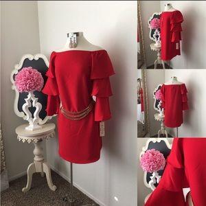 🌺Nanette Lepore  Gorgeous Red Dress